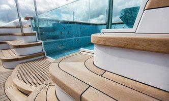 Aquila yacht charter Derecktor Shipyards Motor Yacht