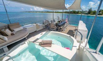 Black Swan yacht charter Westport Yachts Motor Yacht