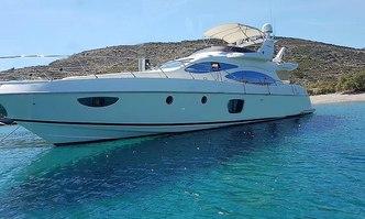 Beauty yacht charter Azimut Motor Yacht
