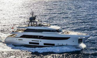 Penelope yacht charter Custom Line Motor Yacht