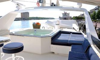 Horus yacht charter Broward Motor Yacht