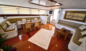 Luce Del Mare yacht charter Fethiye Shipyard Sail Yacht