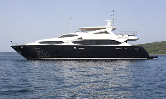 Cassiopeia yacht charter Sunseeker Motor Yacht