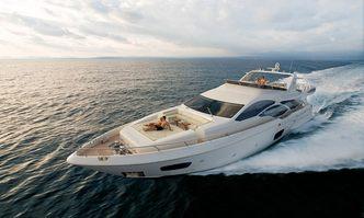 Koukles yacht charter Azimut Motor Yacht