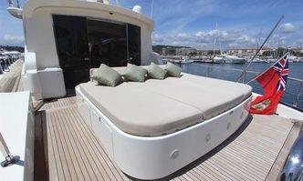 Zen yacht charter Leopard Motor Yacht