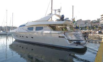 Stefania Anais yacht charter Posillipo Motor Yacht