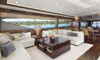 Lady Beatrice yacht charter Princess Motor Yacht