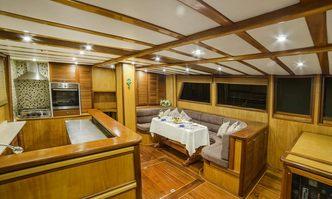 Sude Deniz yacht charter Custom Sail Yacht