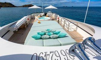 Balista yacht charter Cantieri di Pisa Motor Yacht