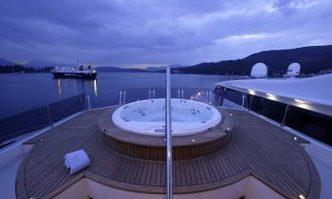 Corvus yacht charter Halkitis Urania Motor Yacht