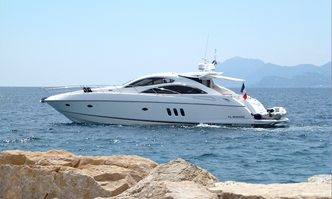 Luciano yacht charter Sunseeker Motor Yacht
