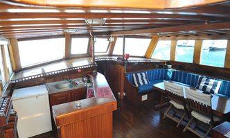 Atlantik III yacht charter Custom Motor Yacht