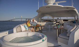 Passion yacht charter Lazzara Motor Yacht