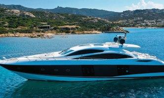 Light Blue yacht charter Sunseeker Motor Yacht