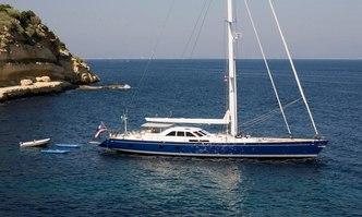 Kawil yacht charter Derecktor Shipyards Sail Yacht