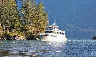 Northern Light yacht charter Hatteras Motor Yacht