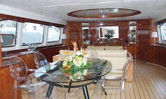 Accama Delta yacht charter Azimut Motor Yacht
