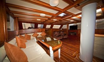 Mojo yacht charter Custom Sail Yacht