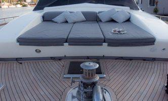 Minou yacht charter Canados Motor Yacht