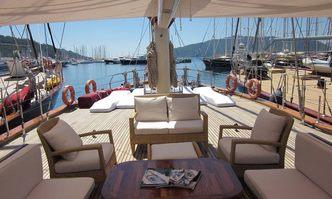 Orient Pearl yacht charter Custom Sail Yacht