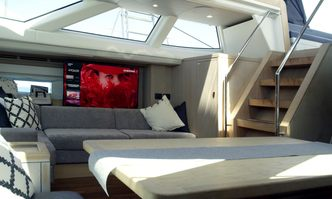 Champagne Hippy yacht charter Oyster Yachts Sail Yacht