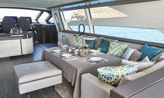 Baloo III yacht charter Pershing Motor Yacht