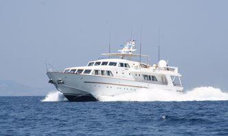 Nauta yacht charter Baglietto Motor Yacht