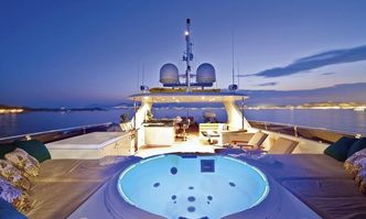 One More Toy yacht charter Christensen Motor Yacht