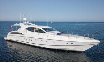 Ellery A yacht charter Leopard Motor Yacht