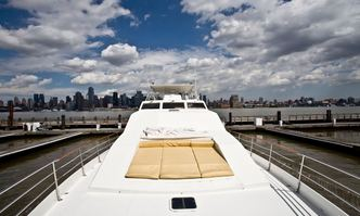 Justine yacht charter Couach Motor Yacht