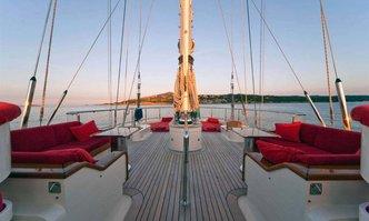 Victoria A yacht charter Perini Navi Sail Yacht