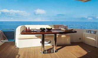Emmy yacht charter Azimut Motor Yacht