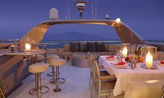 Pandion yacht charter Heesen Motor Yacht
