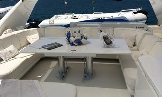 Mazuki yacht charter Sanlorenzo Motor Yacht