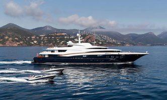Wheels yacht charter Oceanco Motor Yacht