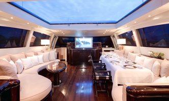 Enzo yacht charter Overmarine Motor Yacht