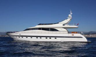 Magenta yacht charter Leopard Motor Yacht