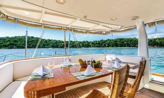 La Numero Uno yacht charter Perini Navi Sail Yacht