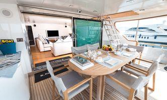 Paolucci yacht charter Picchiotti Motor Yacht