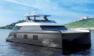 Alteya yacht charter Sunreef Yachts Motor Yacht