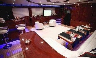 Gora yacht charter Custom Sail Yacht