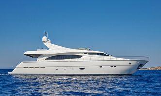 Elite yacht charter Ferretti Yachts Motor Yacht