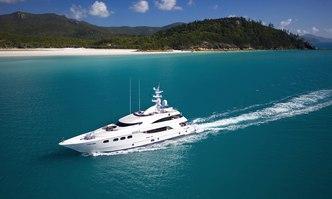 De Lisle III yacht charter Gulf Craft Motor Yacht