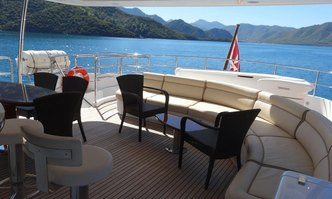 Rebecca V yacht charter Benetti Motor Yacht