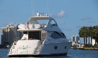 Victoria 68 yacht charter Lazzara Motor Yacht