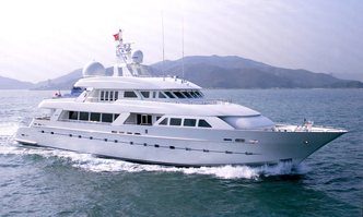 Island Heiress yacht charter Cheoy Lee Motor Yacht