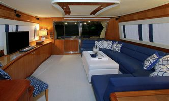 Sioux Empress yacht charter Ferretti Yachts Motor Yacht