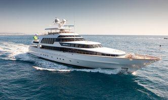 Azzurra II yacht charter CRN Motor Yacht