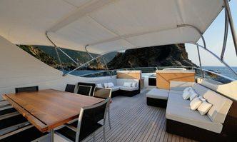 Bertona III yacht charter Canados Motor Yacht