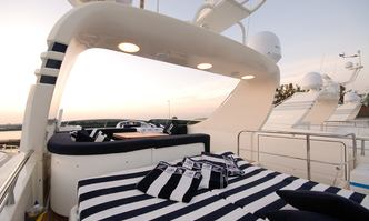 Blue Chip yacht charter Canados Motor Yacht